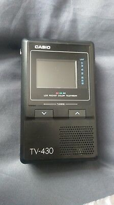 Casio TV-430 Portable LCD Colour Television