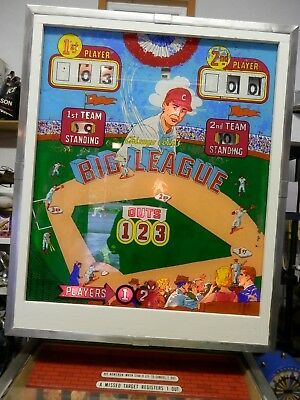 Big League baseball pinball machine by Chicago Coin