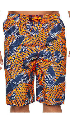 4a68bce46c Nike Big Tall Nova Spark Hyper Crimson Volley Swim Trunks 4X Men $64  FreeShip