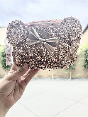 Disney Rose Gold Fannie Pack NWT Sold Out At Disneyland LOUNGEFLY