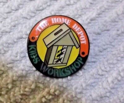 The Home Depot Kids Workshop Lapel Pin #2