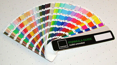 Pantone Solid Uncoated Color Swatch Formula Guide 1,114 colors 4th Ed 2nd Print