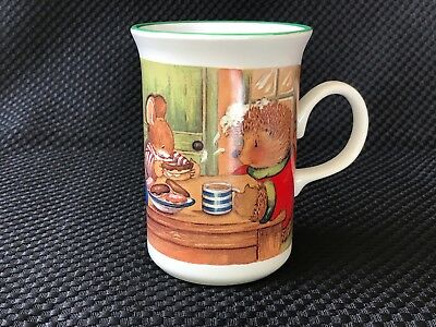 5 gordon fraser country companions kate veale hedgehog greeting gordon fraser country companions mug bunny racoon hedgehog mouse green rim m4hsunfo
