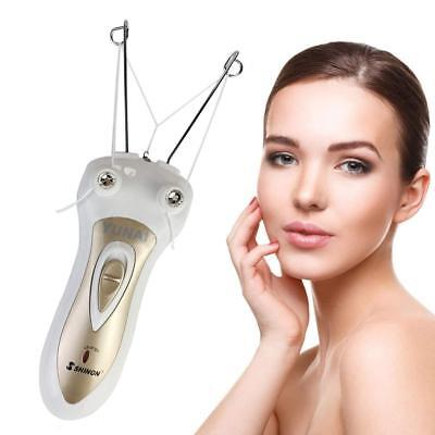 Electric Body Facial Hair Remover Pull Surface Device Defeatherer Cotton Thread