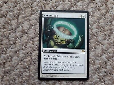 1 x Runed Halo, Shadowmoor, SP. MtG Magic Gathering, Lot 2