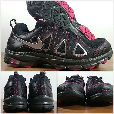 f3aa735e11584 New Nike Air Alvord 10 Black-Pink Athletic Trail Shoes 512041-060 Women s  Sizes