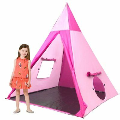 EasyGo Products Outdoor-Indoor Tee Pee Tent - 5 Foot Tall Classic Indian Play