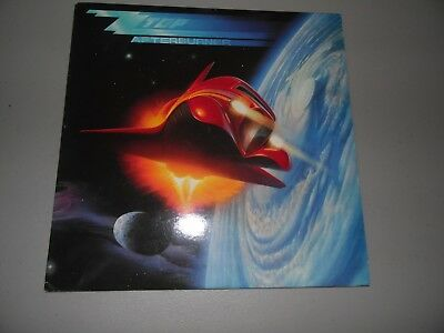 Vintage ZZ Top Afterburner Album Record 1985 Hamstein Music Co