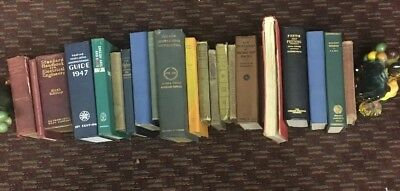 Lot of 22 Antique Collectible Vintage Old Rare Hard To Find Books *MIX UNSORTED*
