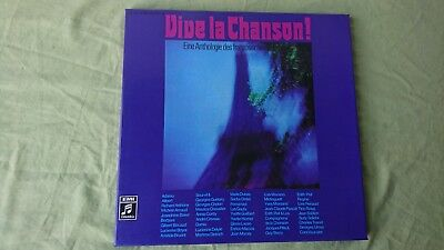 V.A. - VIVE LA CHANSON 3LP Box (Edith Piaf, Yves Montand) unplayed ARCHIV LP ❤