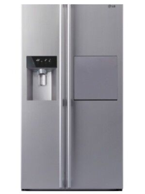 LG Side By side stainless steel refrigerator