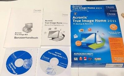 Acronis True Image Home 2011 PC Backup Recovery