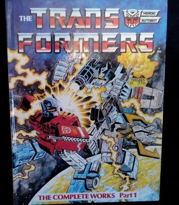 The Transformers The Complete Works Part 1 Book 1984