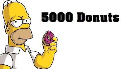 Simpsons Tapped out - 5000 Donuts