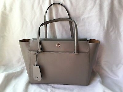 d2afe37bd TORY BURCH PARKER Tote - Authentic - DUST STORM - Pre owned - $55.00 ...