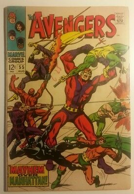 The Avengers 55 VG/F 1st Appearance of Ultron