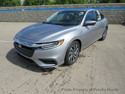 2019 Honda Insight Touring CVT Touring CVT New 4 dr Sedan CVT Gasoline 1.5L 4 Cyl Lunar Silver Metallic