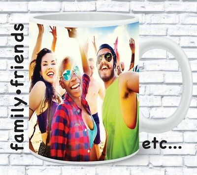 Personalised Mug Custom Tea Coffee Cup Your Text Image Logo Design Gift Pres