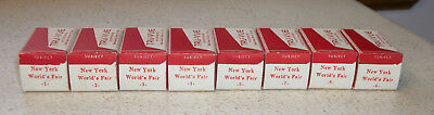 8 Tru-Vue Film Rolls 1939 NYWF New York World's Fair Complete Set  #1 thru #8