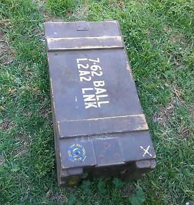 Collectable Army Ammo Box  Wooden