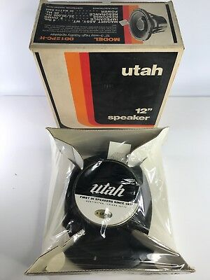 "UTAH  dd12pc-h  1 12"" Coaxial speaker 1960's vintage NOS 8 ohm SEALED BRAND NEW"