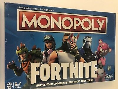 Fortnite Monopoly Limited Edition Board Game NEW/SEALED