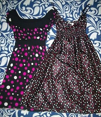 Lot of 2 womens size small dresses