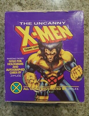 The Uncanny X-Men Trading Cards by Jim Lee 1992 Impel, Opened  Packs