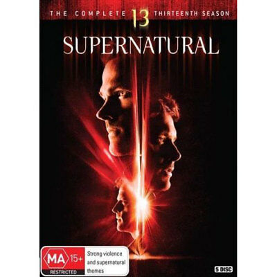 Supernatural: Season 13 DVD NEW (Region 4 Australia)