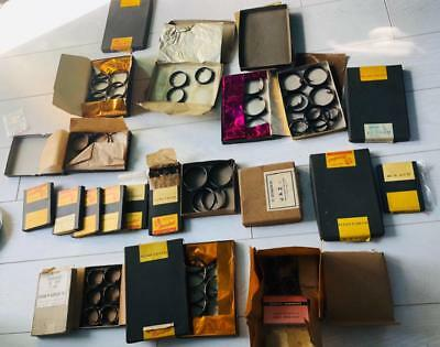 A new-old stock collection of antique clocks main springs.original boxes