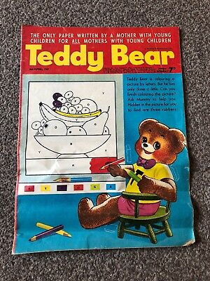Teddy Bear Comic. 8 April 1967