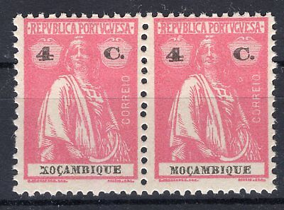 """Mozambique 1921 - Ceres Error """"xocambique""""  Mint Never Hinged"""