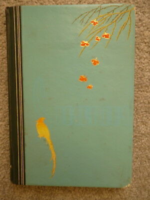 Old, Hard Cover Stamp Album containing hundreds of Australian stamps