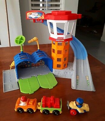 Fisher-Price Little People Wheelies Playset Airport