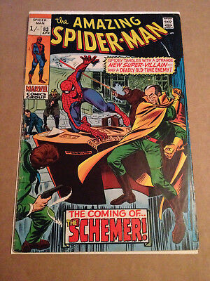 Amazing Spider-Man # 83 - 1St App The Schemer / Romita Art - Marvel 1970