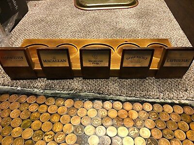 *rare Wooden Whisky Display Stand Plinth*highly Collectable*brand New*