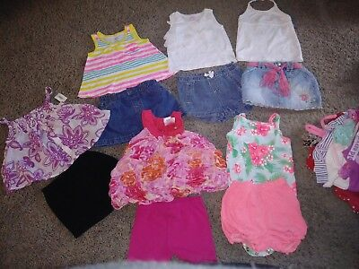 Girls Summer Lot 12 Months Rare Editions Carters