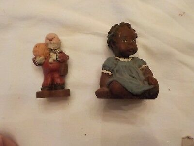 Two Sarah's Attic  Made In Usa Granny's Favorites And Man Holding Pumpkin