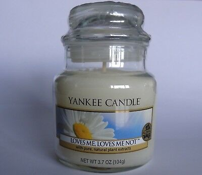 Yankee Candle small Loves Me Loves Me Not Retired Fragrance NEW and Sealed