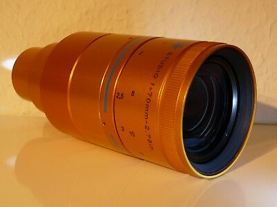 ISCO OPTIC Ultra-Star Studio Cinemascope Objektiv F=70mm-2,76in 35mm lens !