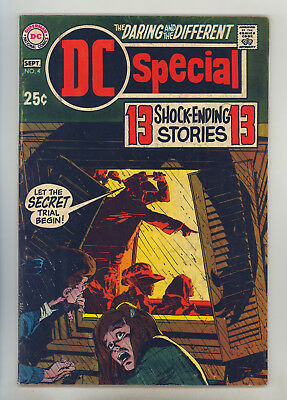 DC Special #4 FN- Giant, Adams, Anderson, Infantino, Horror Stories, 1st Abel
