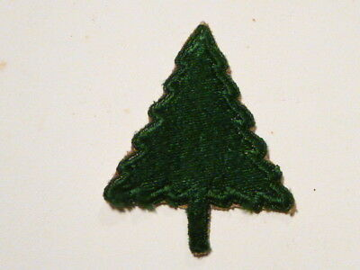 A   WW 2 U S Army 91st Division  Cut Edge Snow Back Patch