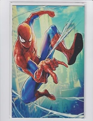 The Amazing Spider-Man #7 Sujin Jo Battle Lines Variant Cover NM Comic Book