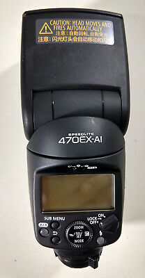 Canon Speedlite 470EX-AI Hot-Shoe Flash with AI Bounce Function