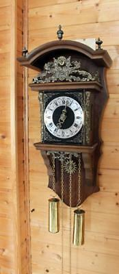 Sallander Dutch Zaanse Hermle Wall Clock SA 31