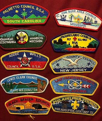 Csp Lot B 10 Patches See Picture