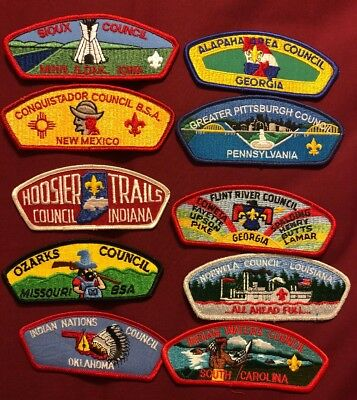 Csp Lot C 10 Patches See Picture