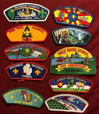 Csp Lot F 10 Patches See Picture