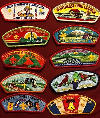 Csp Lot G 10 Patches See Picture