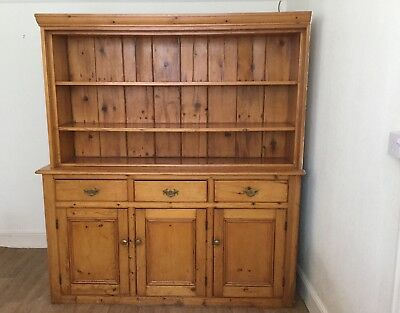 Antique solid pine dresser removed from 1911 home